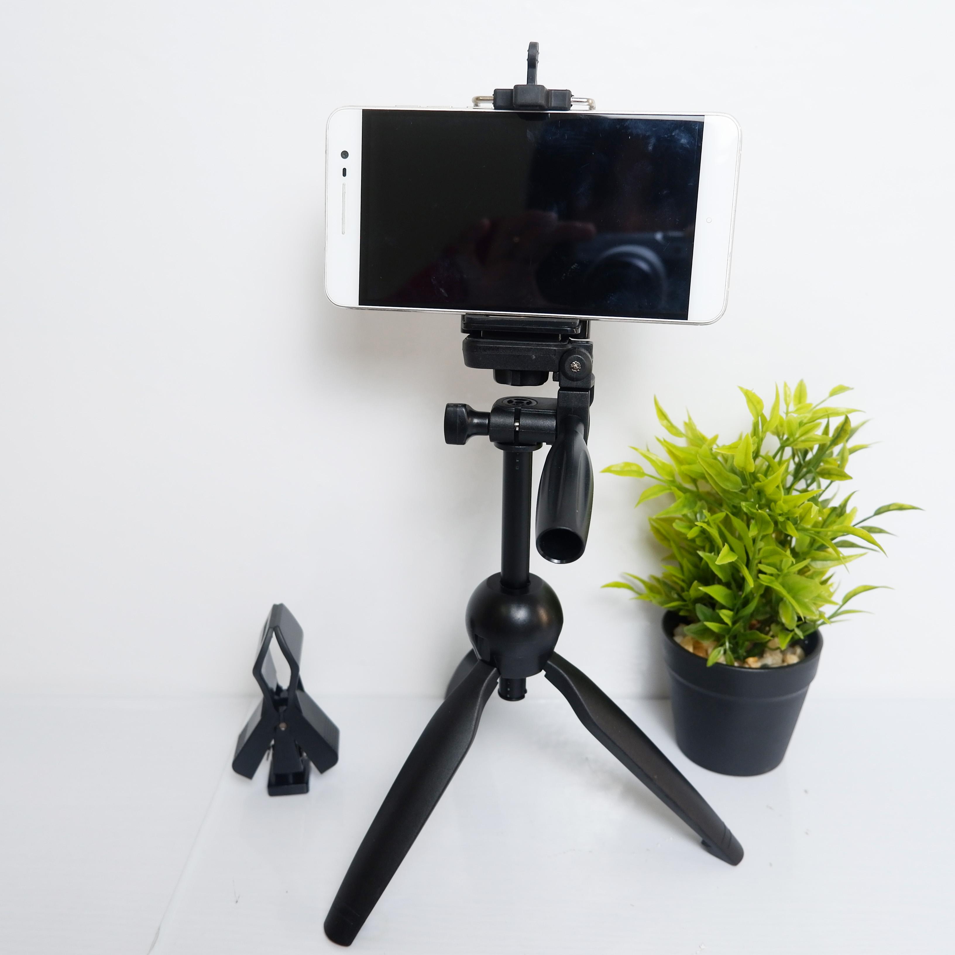 Hình ảnh Chân để bàn quay phim, chụp ảnh, gắn micro - Giá đỡ điện thoại cao cấp - Hàng chính hãng