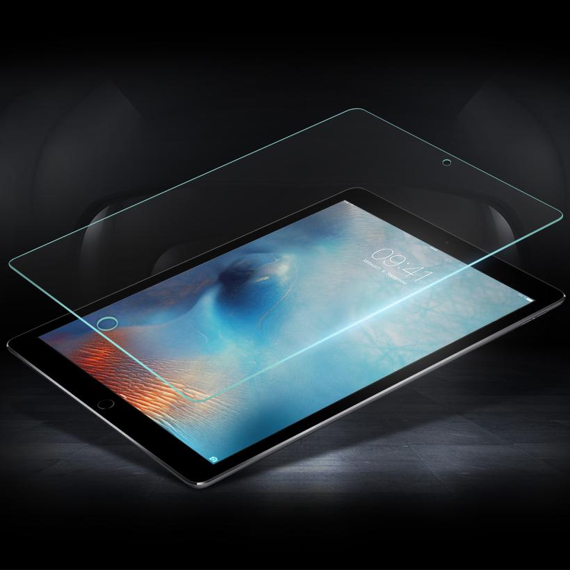 Miếng dán kính cường lực iPad Pro 10.5 2017 Template Glass Vát cạnh 2.5D - Hàng nhập khẩu