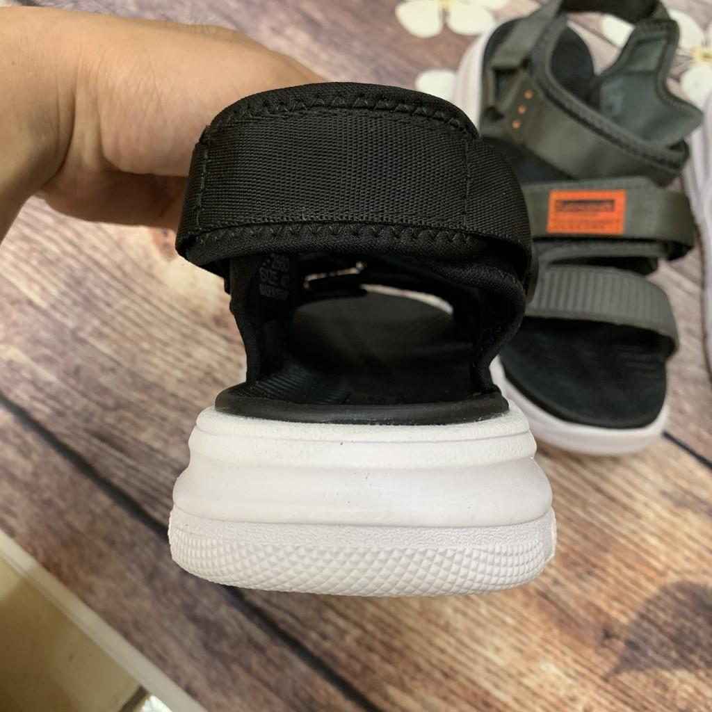 Sandal nam, dép nam limenco học sinh đen trắng đen thời trang cực bền 3618