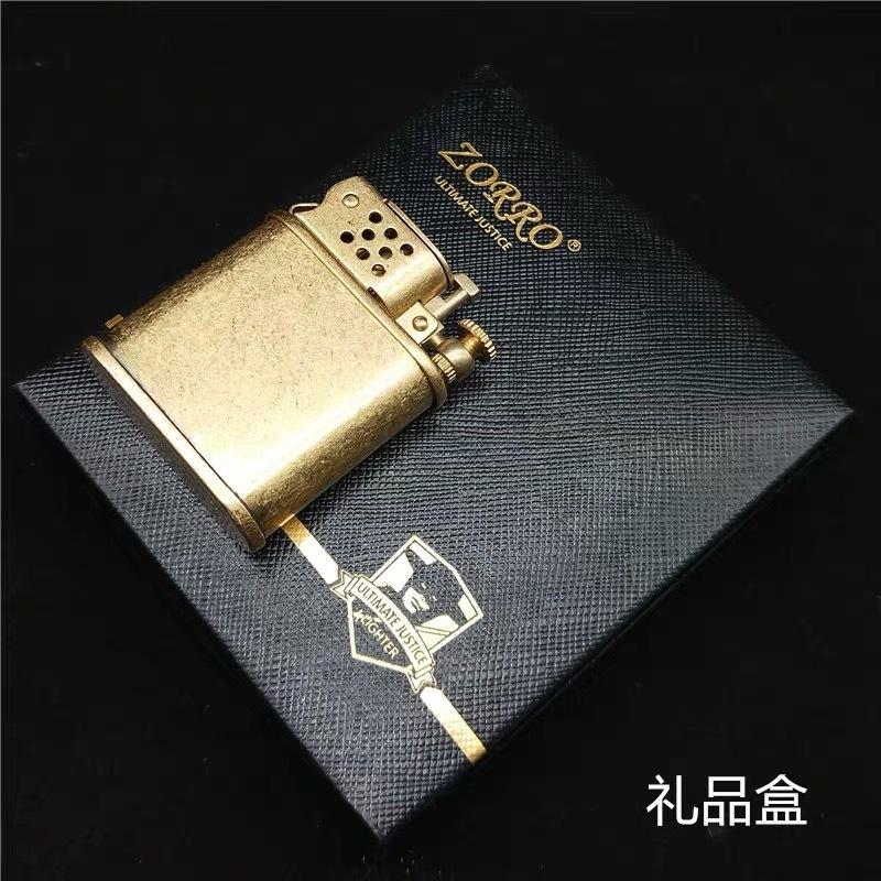 Combo Hộp Quẹt Bật Lửa Z-561 Dùng Xăng Đá Đánh Lửa Tự Động + Tặng Bình Xăng Chuyên Dụng Dành Cho Bật Lửa Xăng Đá
