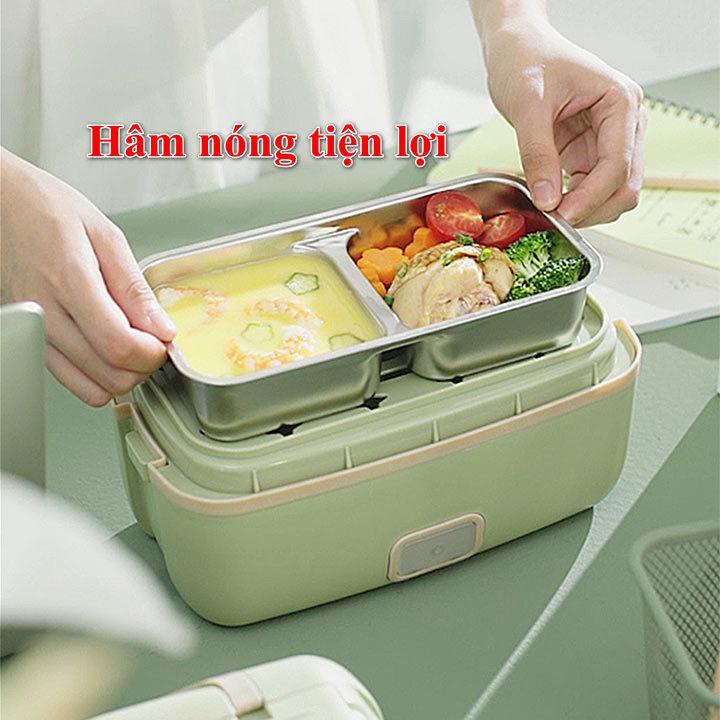 Hộp cơm cắm điện giữ nhiệt, hấp đồ ăn Liven FH18 Hàng Chính Hãng