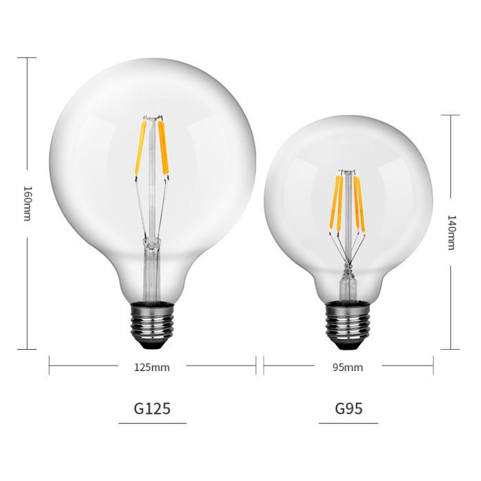 Bóng đèn Led Edison G125 16W đui E27