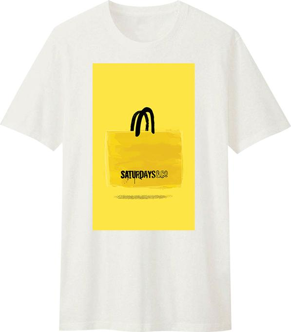 Áo T-Shirt Unisex Dotilo Saturday Bag - Hu082 - Size XS