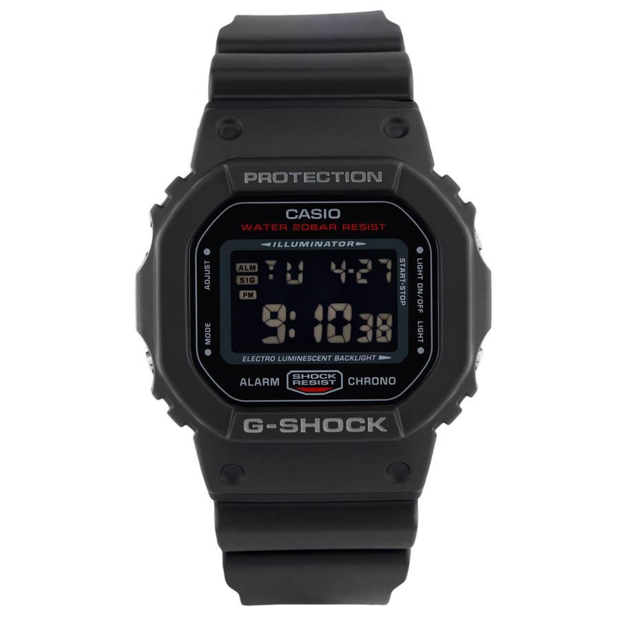 Đồng hồ nam dây nhựa Casio G-Shock chính hãng DW-5600HR-1DR