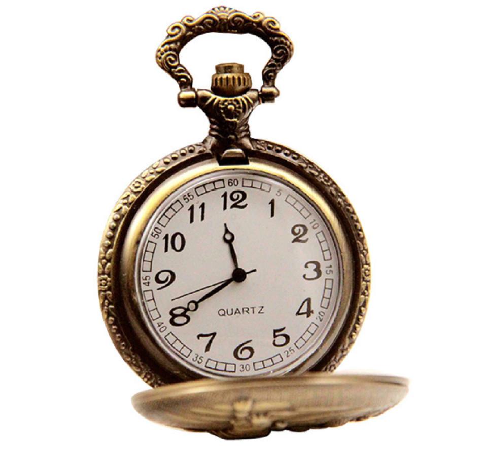 Đồng hồ quả quýt dây chuyền 12 con giáp THÌN- DH13 SIZE LỚN