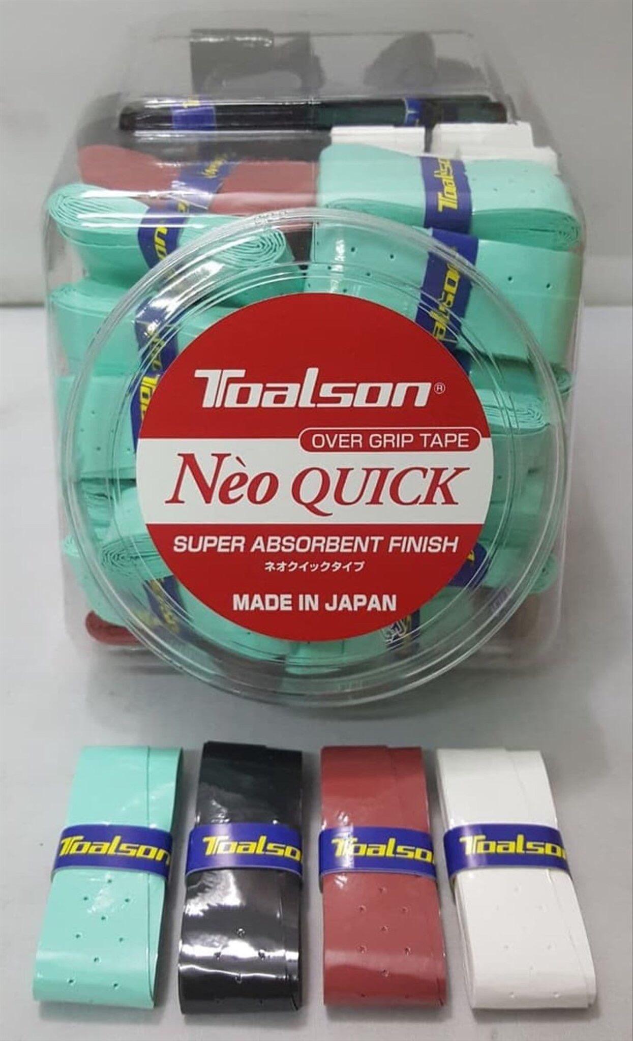 CUỐN CÁN Toalson NEO QUICK - quấn cán màu ngẫu nhiên Made in japan (NeoQuick1)