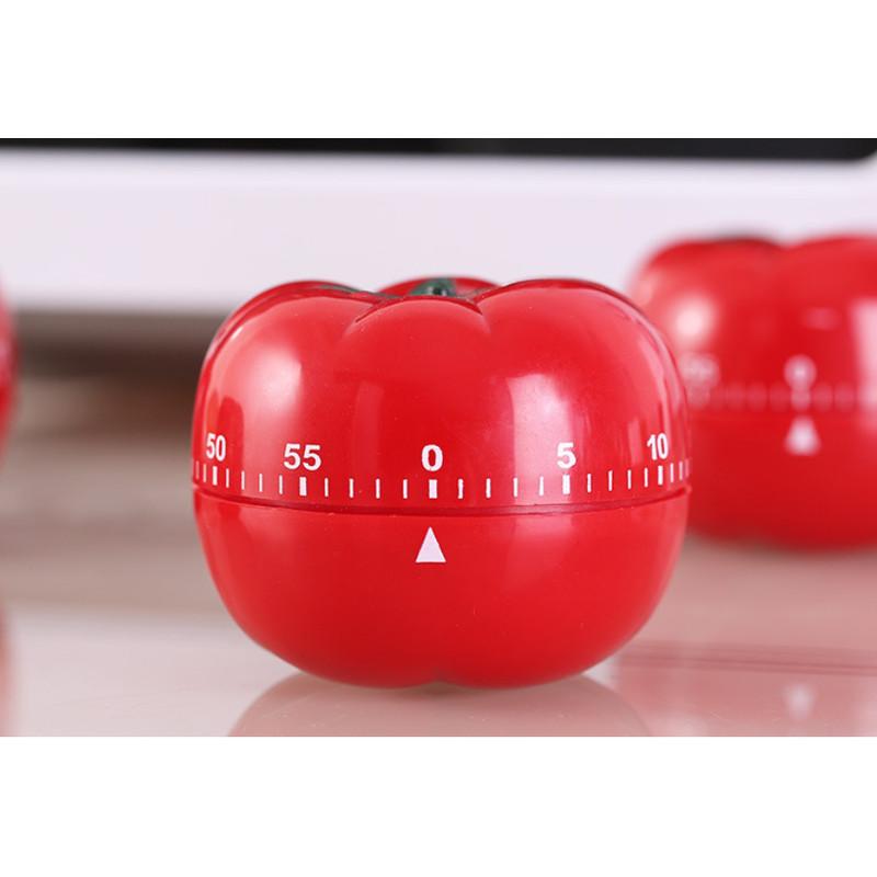 Đồng hồ hẹn giờ nấu ăn hình cà chua siêu đáng yêu