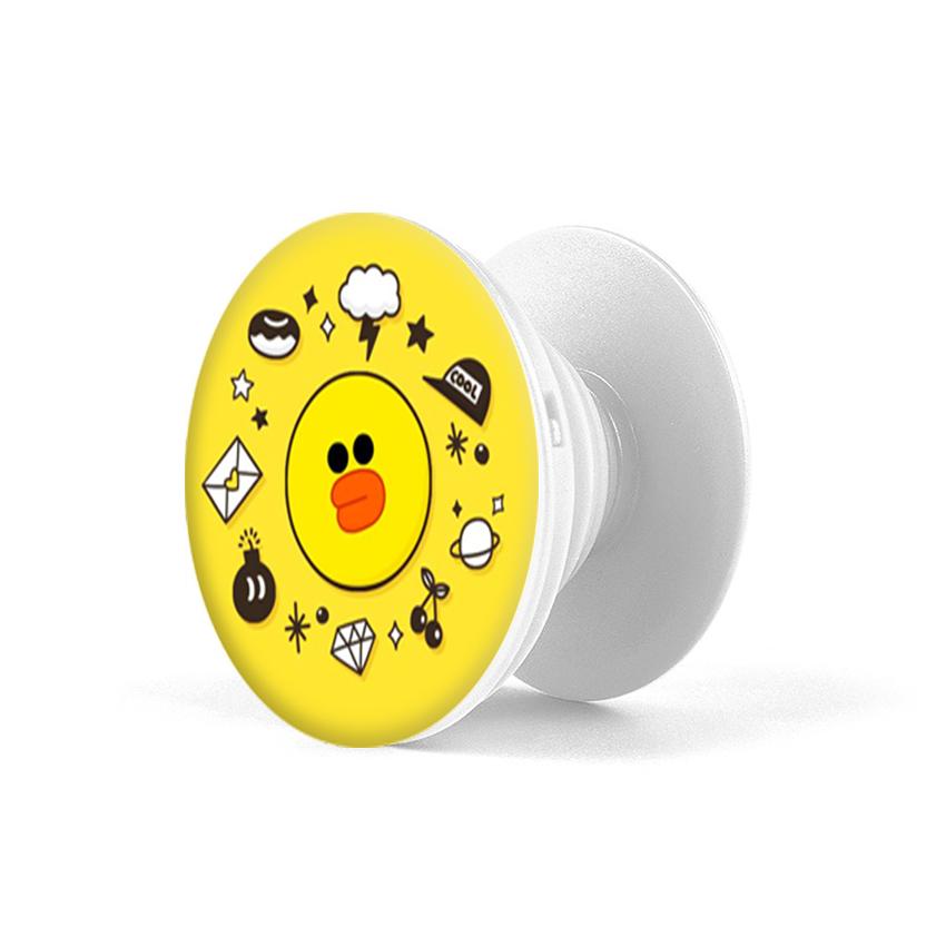 Gía đỡ điện thoại đa năng, tiện lợi - Popsockets - In hình DUCK - Hàng Chính Hãng