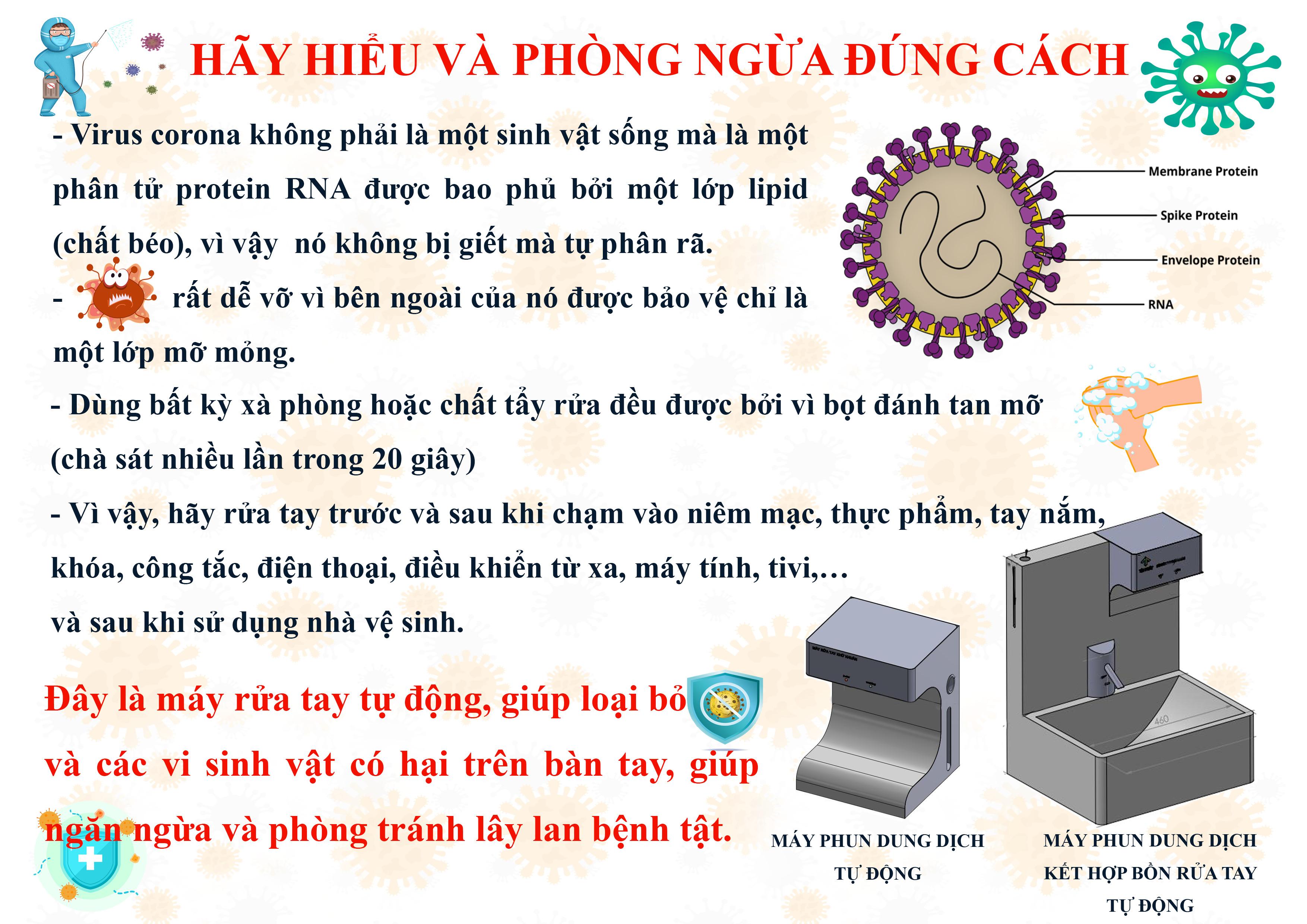 Máy Phun Dung Dịch Rửa Tay Tự Động