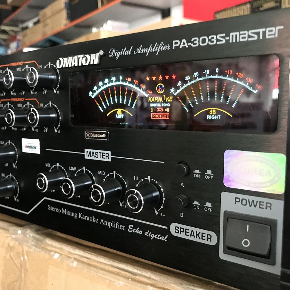 Amply bluetooth siêu bass OMATON PA 303S MASTER 16 sò đại - Hàng chính hãng