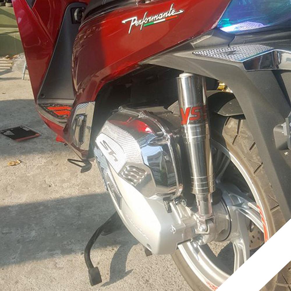 Bộ Ống Phuột Sau Dành Cho Honda SH 125i, 150i Inox 304 + Tặng 01 Móc Gắng Chìa Khóa Xe Ngẫu Nhiên