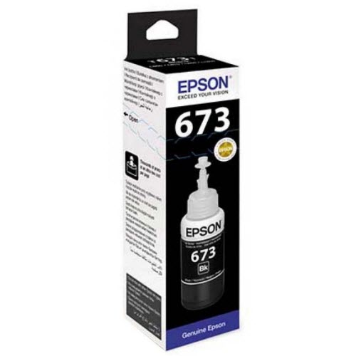 Mực in Epson T673 Black Ink Bottle (C13T673100) - Hàng Chính Hãng