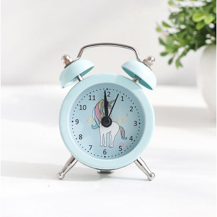 Đồng hồ báo thức để bàn mini Unicorn Magical 5x8cm