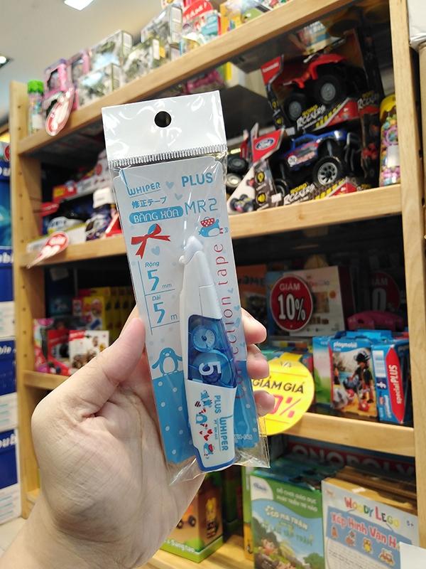Băng Xóa Kéo MR2 Clear Blue Character Plus 48-V564 5m x 5mm