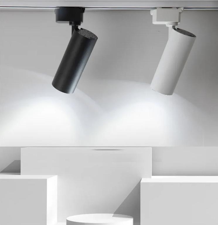 Combo 3 đèn led rọi ray ống bơ 3w + thanh ray 1m hàng chính hãng.