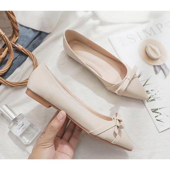 Giày bệt NƠ kiểu dáng Hàn Quốc Mã B3