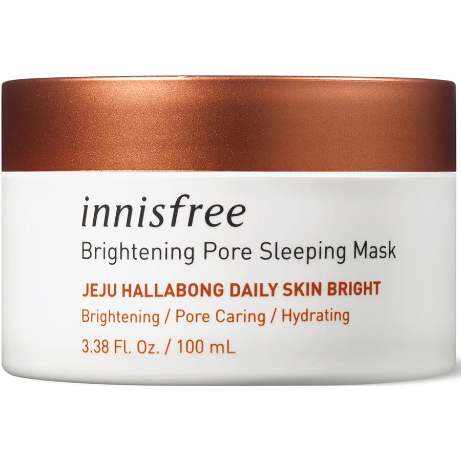 Mặt Nạ Ngủ Dưỡng Sáng Da 3 Trong 1 Innisfree Brightening Pore Sleeping Mask (100ml)