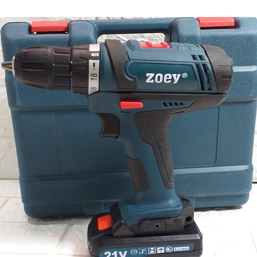 Máy Khoan Pin 21V Phụ Kiện Zoey