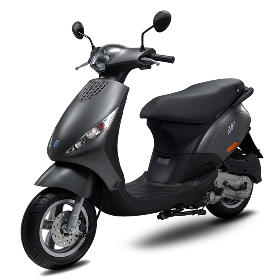 Xe Máy Piaggio Zip 100 E3 - Xám Sần
