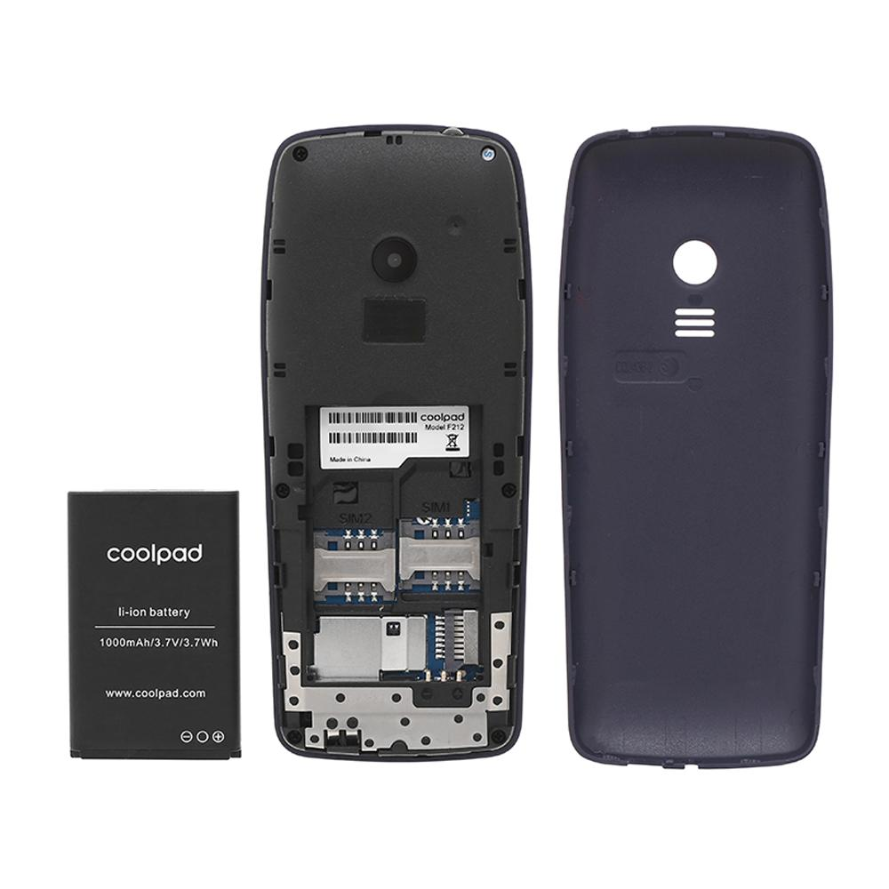 Điện Thoại Di Động Coolpad F110 2 Sim Kết Nối Blutooth Hỗ Trợ duyệt Web - Hàng Nhập Khẩu