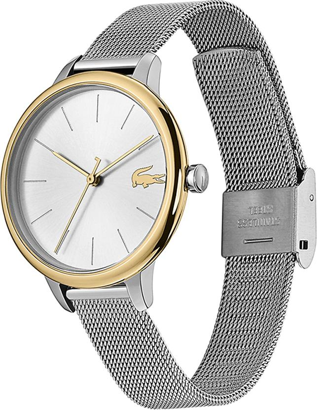 """Đồng Hồ Nữ Dây Lưới Lacoste 2001127 """"Lacoste Cannes"""" 34mm"""