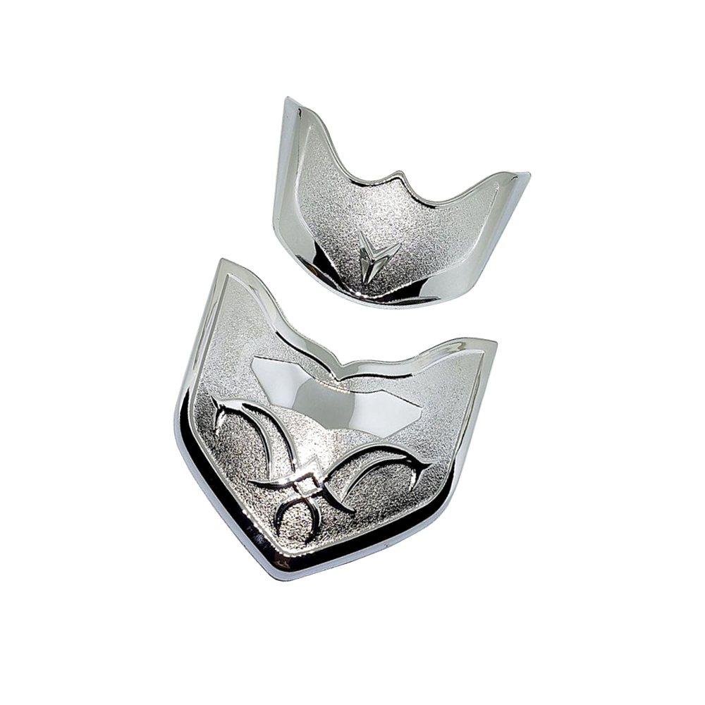 Combo Ốp Mỏ & Đuôi Dè Dành Cho VISION Nhựa Xi + Tặng 01 Móc Gắng Chìa Khóa Xe Máy Ngẫu Nhiên