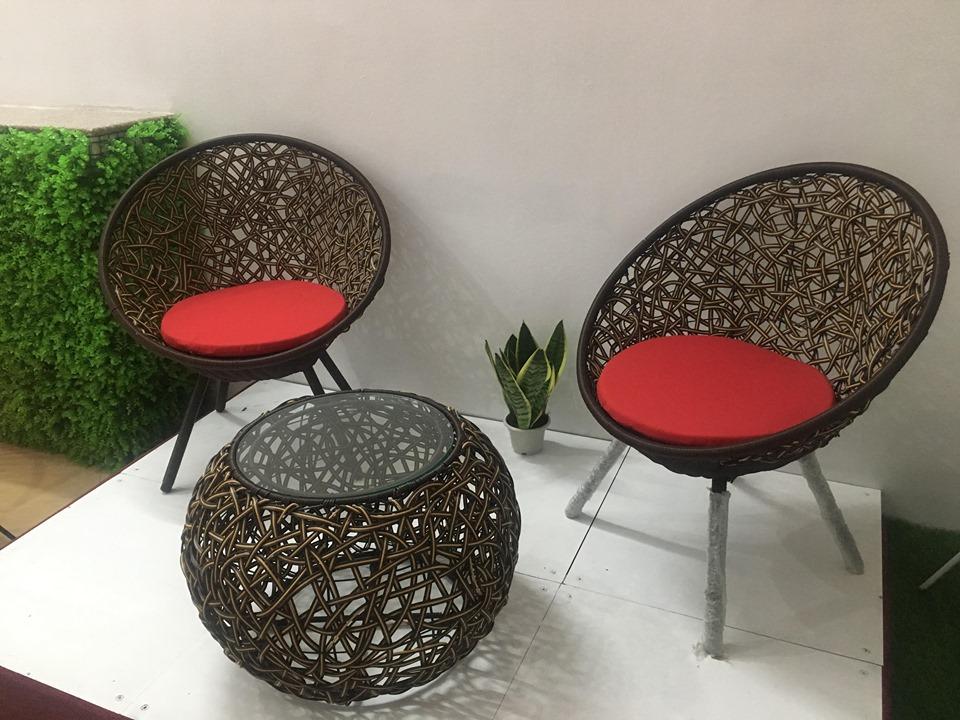 Bộ bàn ghế multi rối 2 ghế 1 bàn