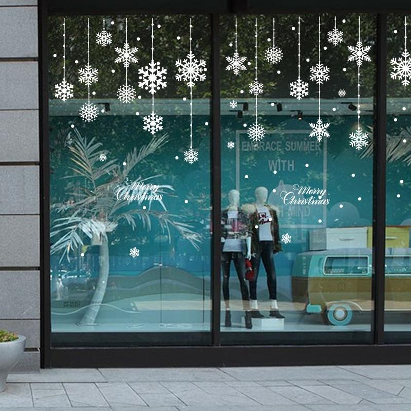 Decal Noel 54 - Bông tuyết 2