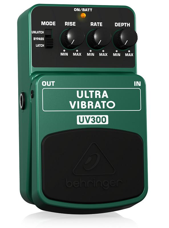 Guitar Stompboxes Behringer UV300- Classic Vibrato Effects Pedal- Hàng chính hãng