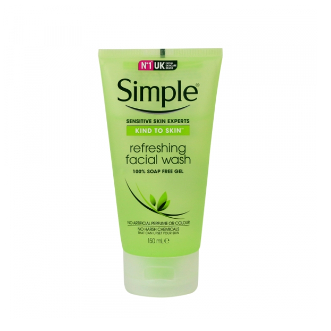 Sữa Rửa Mặt Dạng Gel Simple Refreshing (150ml) - 5011451103863
