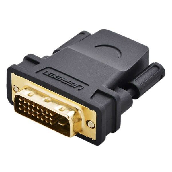 Đầu chuyển DVI (24+1) to HDMI (cái) Ugreen 20124 Hàng Chính Hãng