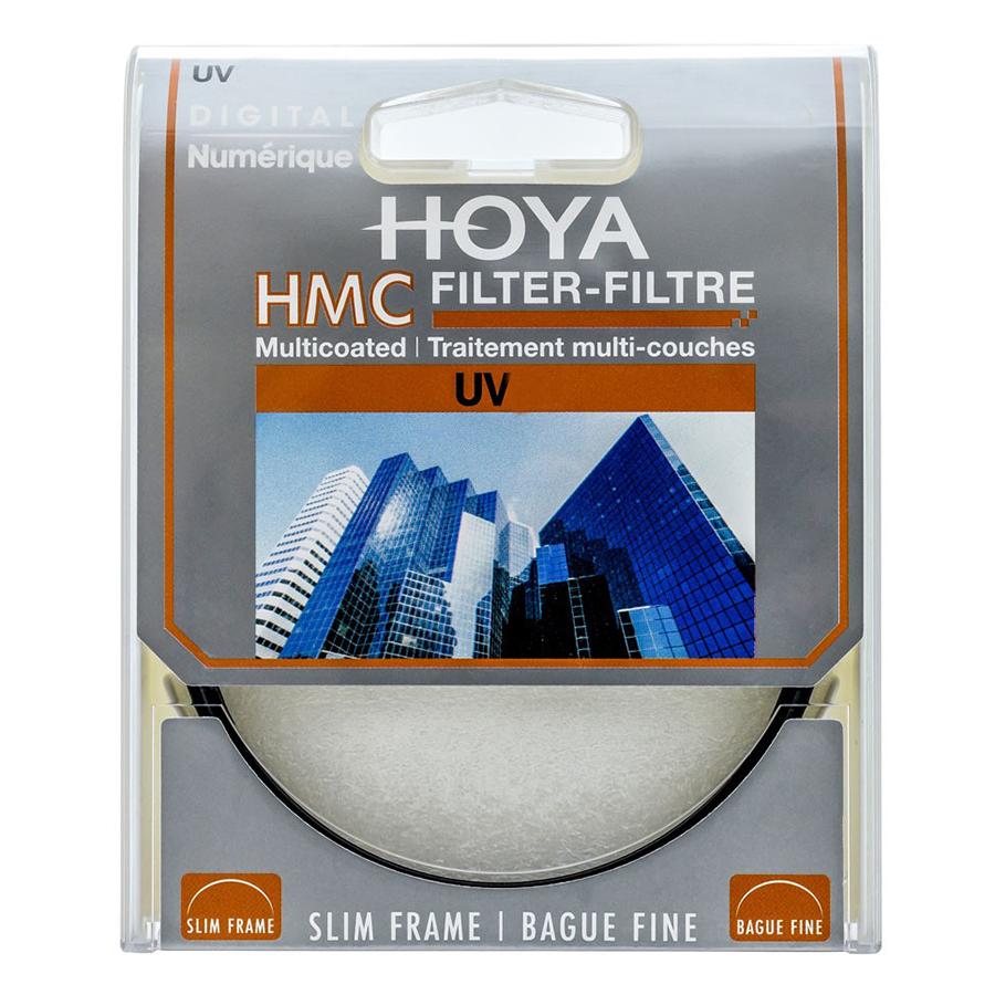 Combo Kính lọc Filter Hoya HMC UV 49mm + Bút lau lens - Hàng nhập khẩu