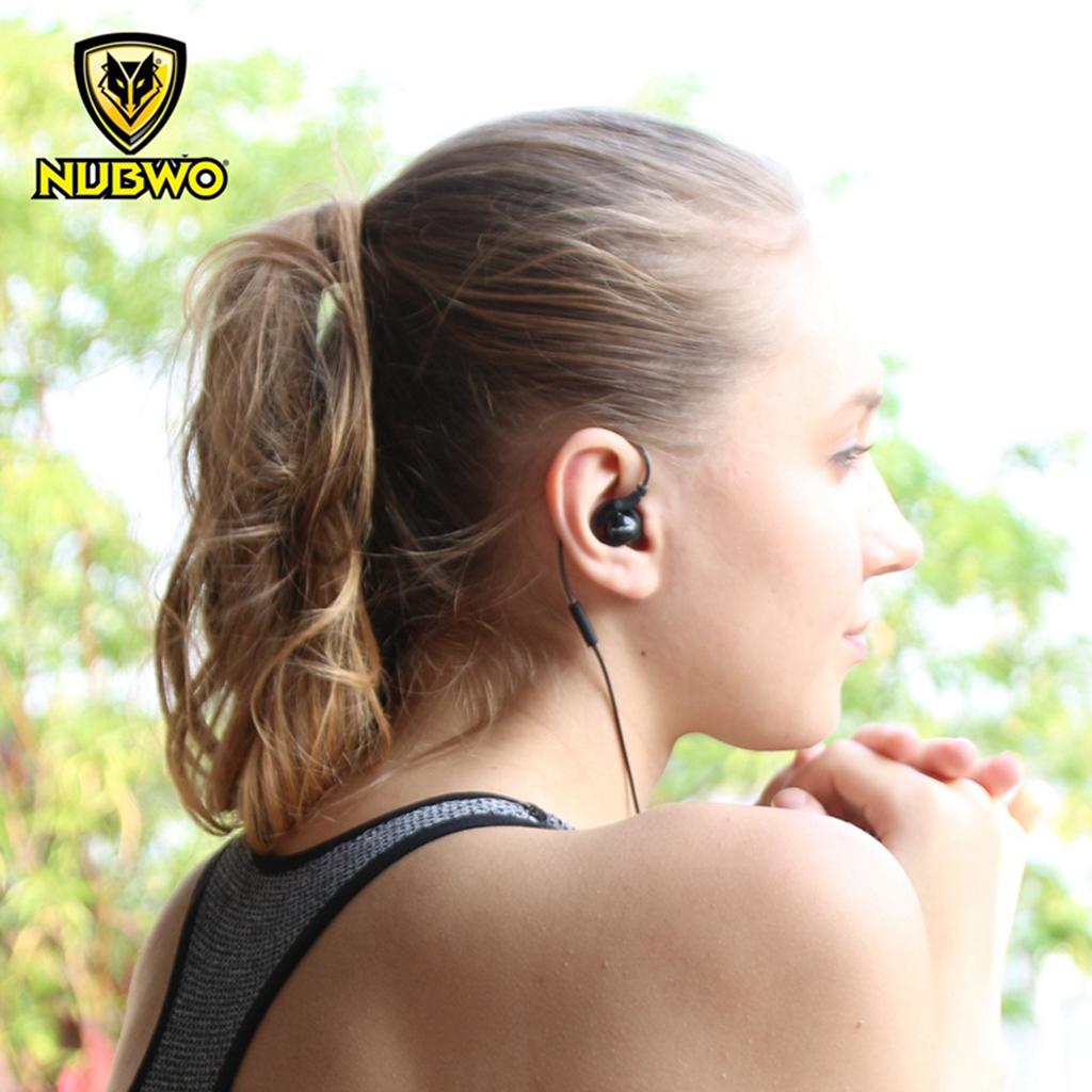 Tai nghe nhét tai Nubwo NY51 cho Apple EarPods iPhone 6/6s - Hàng Chính Hãng