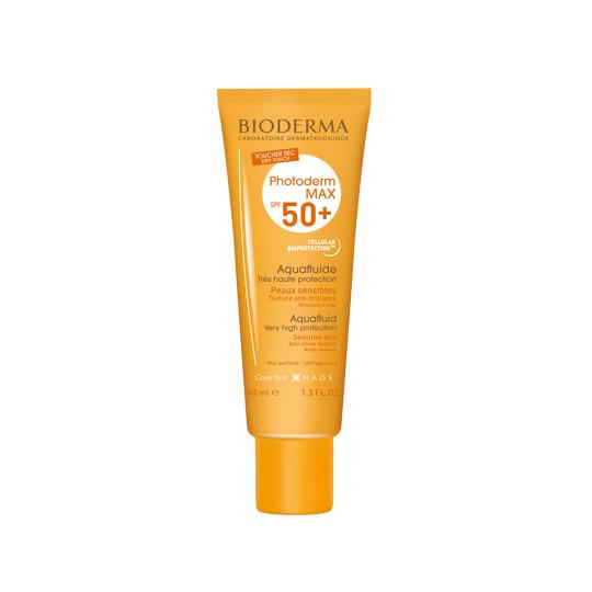 Kem chống nắng giảm bóng nhờn cho mọi loại da Photoderm MAX Aquafluide SPF 50+ - 40ml (Không màu)
