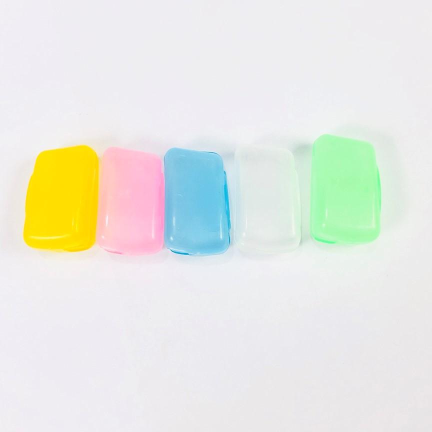 Bộ 2 nắp đậy bàn chải đánh răng, hộp bọc đầu bảo vệ bàn chải mang đi du lịch siêu tiện lợi - GIAO MÀU NGẪU NHIÊN GNG