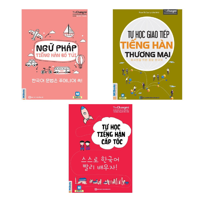 Combo Tự Học Tiếng Hàn Cho Người Đi Làm