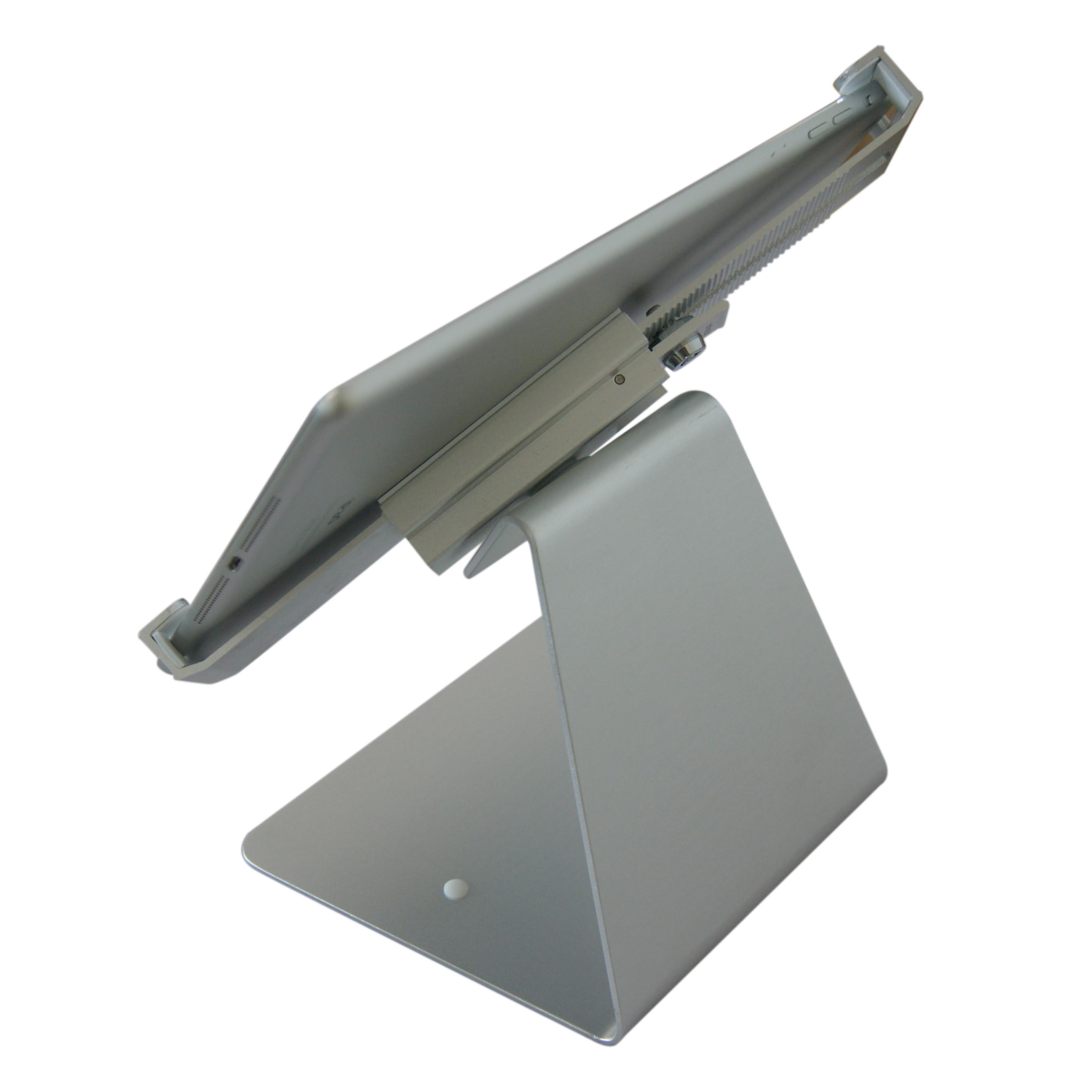 Giá đỡ máy tính bảng, IPad để bàn có khóa bảo vệ