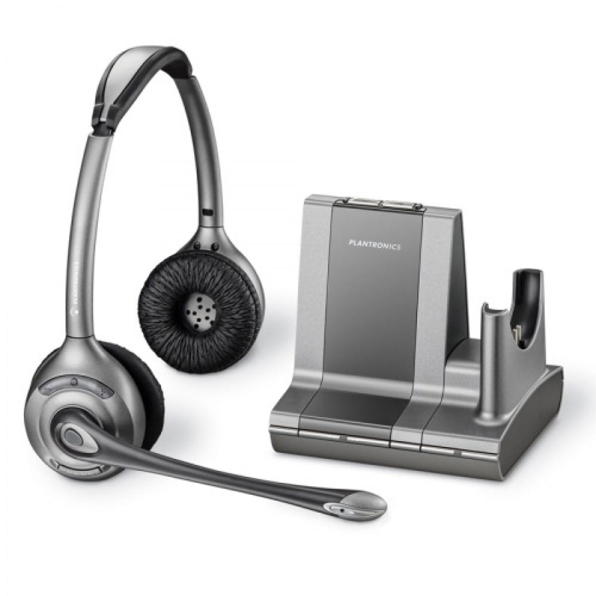 Tai nghe DECT không dây Plantronics W8220 hỗ trợ kết nối không dây và sóng DECT - hàng chính hãng