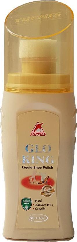 Xi đánh giày da YUPPIES Glo King Liquid Sheo Polish 75ml - Neutral (Malaysia)