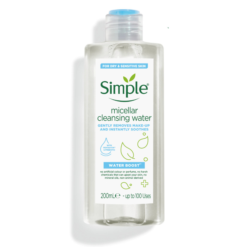 Nước tẩy trang Simple Water Boost Micellar Cleansing Water