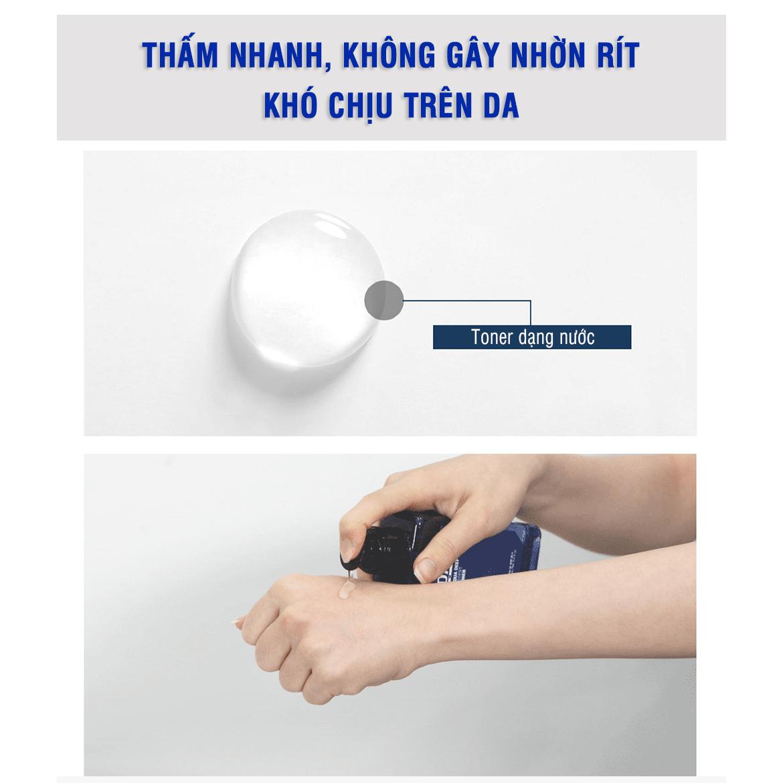 Nước hoa hồng mini size DASHU Aqua Deep Potent Toner 30ml nước cân bằng da chăm sóc và dưỡng ẩm da TM-TN09