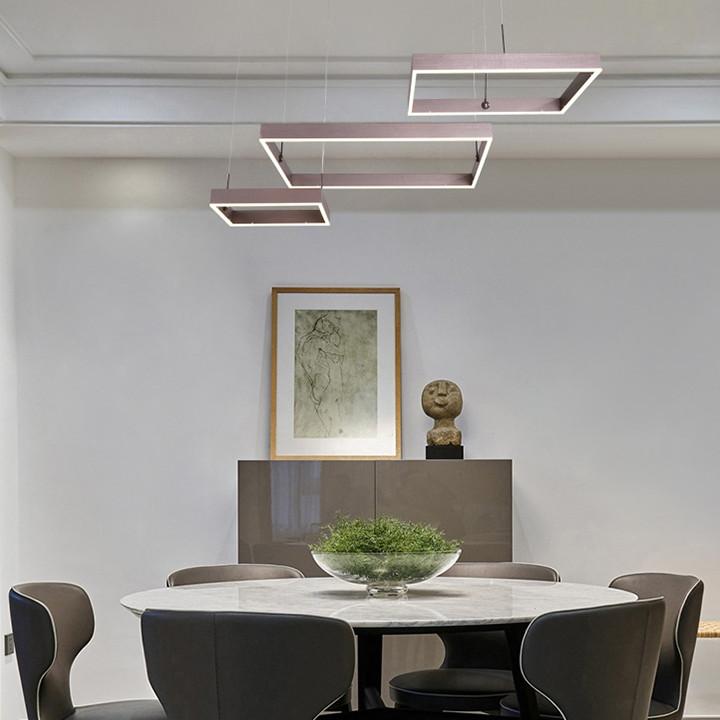 Đèn trần cao cấp có 3 chế độ sáng, đèn chùm cao cấp có điều khiển, đèn trang trí PH-D018