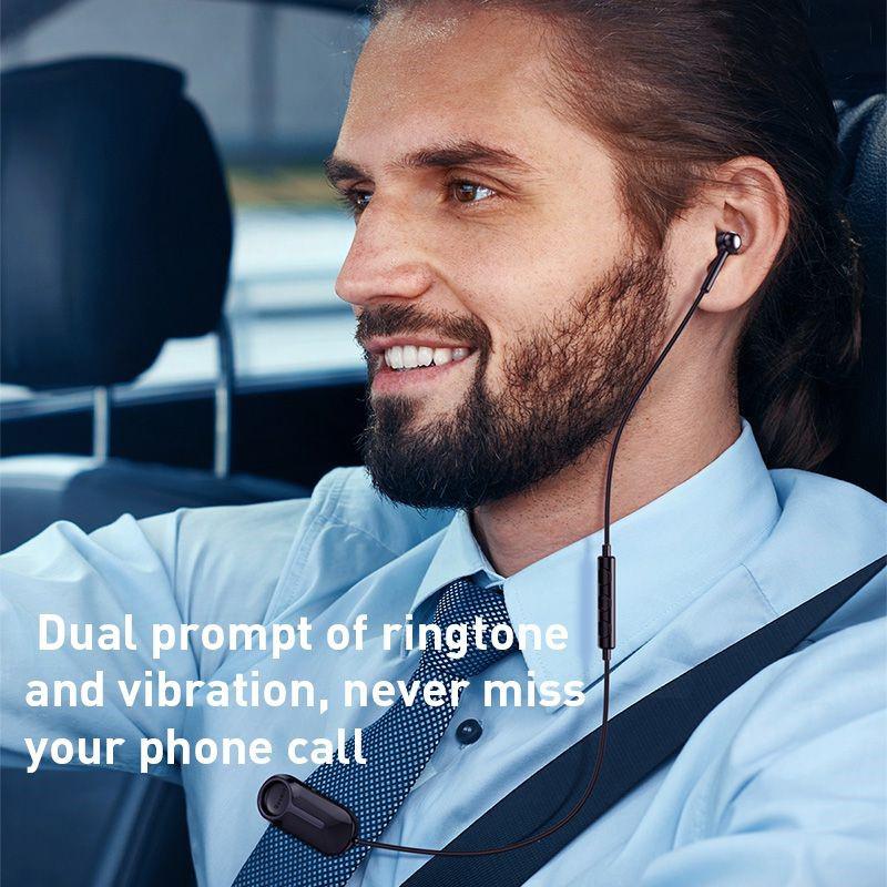 Tai nghe Bluetooth Encok A06 (Clip Style Wireless Unilateral Wireless Earphone, Vibration + Ringtone, Built-in Microphone ) - Hàng Chính Hãng Baseus