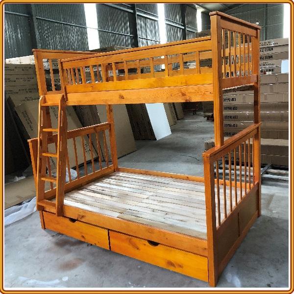 Giường 3 tầng Juno Sofa 1m/1m2