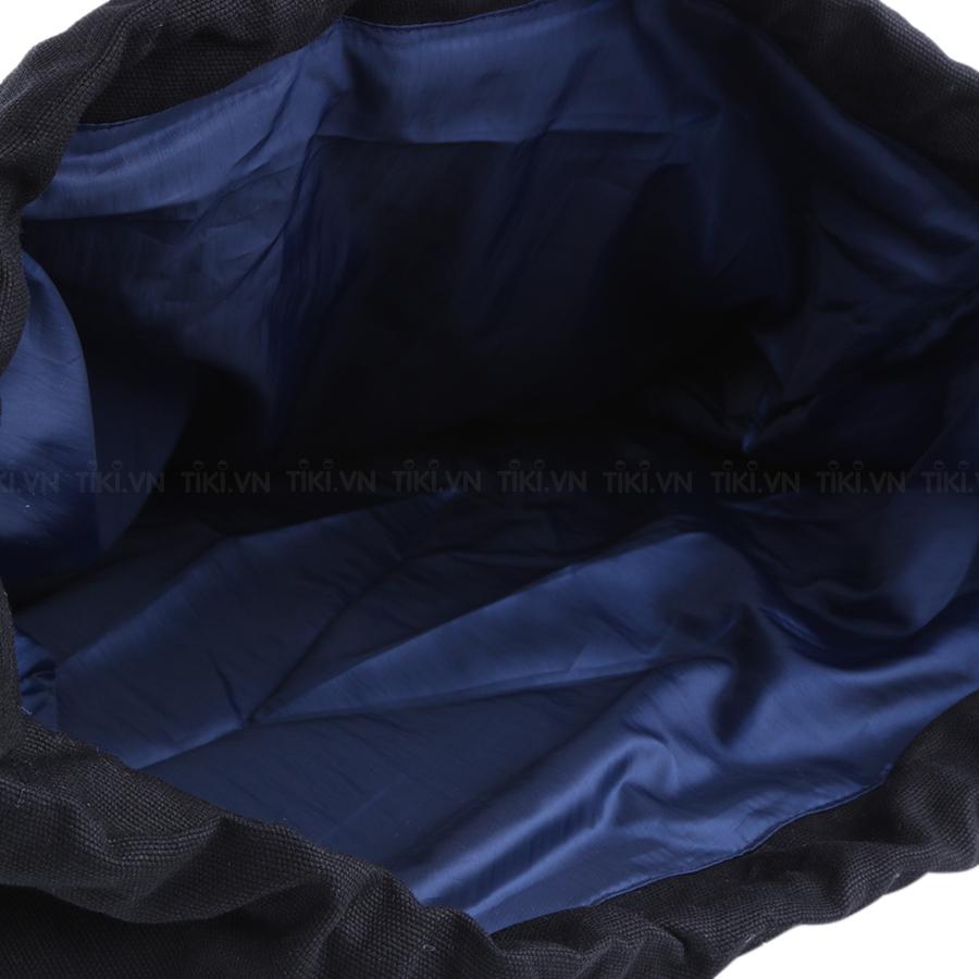 Túi Xách Dây Gút Gắn Trái Dâu U & Yaby - 073 (45cm) - Đen