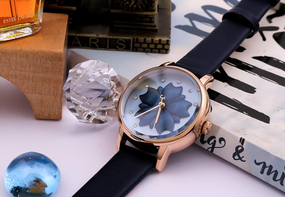 Đồng hồ Nữ Julius Ja-1000 Xanh