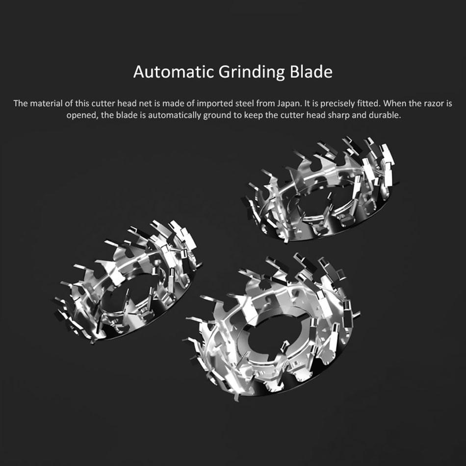 Máy cạo râu Xiaomi Enchen BlackStone - Hàng Nhập Khẩu