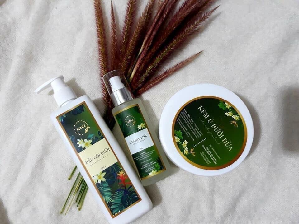 Bộ sản phẩm chăm sóc tóc cao cấp Nare