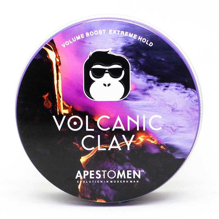 Sáp vuốt tóc APESTOMEN Volcanic Clay - Tặng kèm móc khoá chính hãng