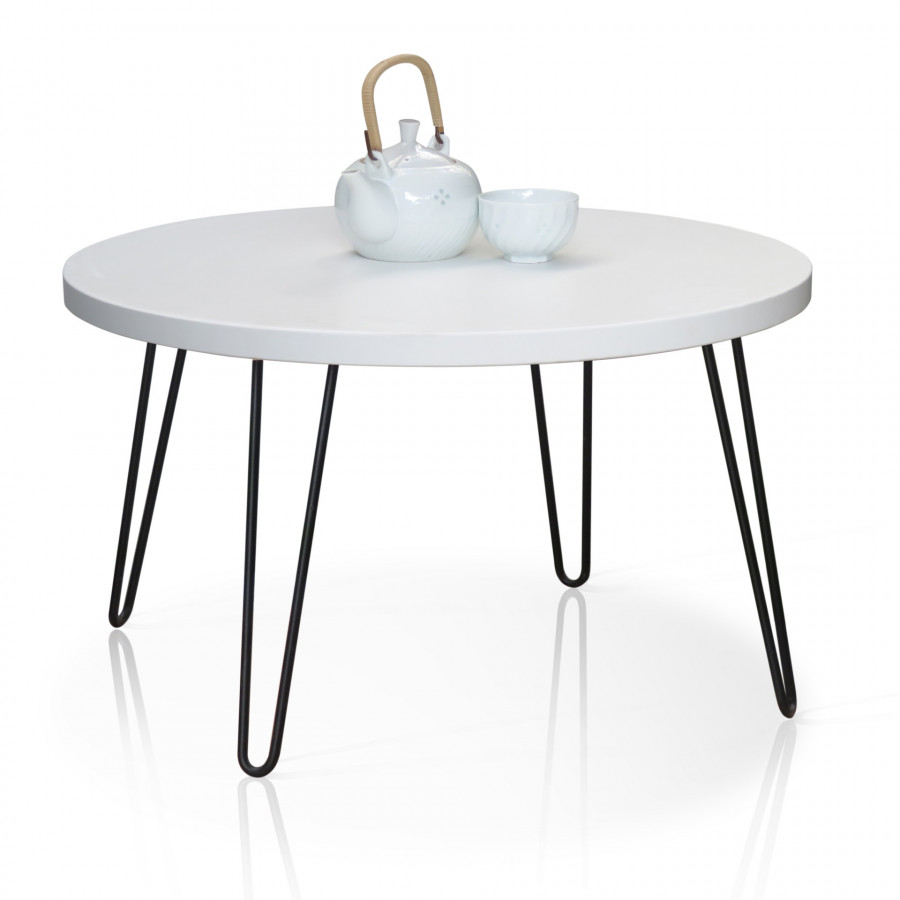 Table White 4 chân Sắt vsf-12